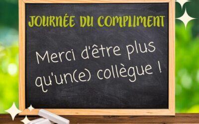 🌟 Aujourd'hui, c'est la journée du compliment !